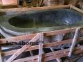 natural river stone bathtubs